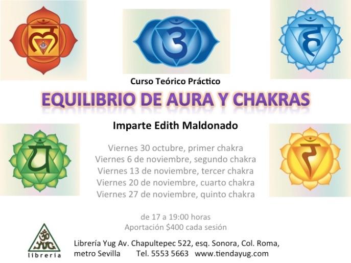 TALLER EQUILIBRIO CHAKRAS