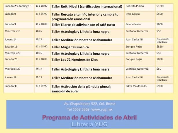programa abril