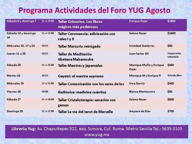 Programa Agosto