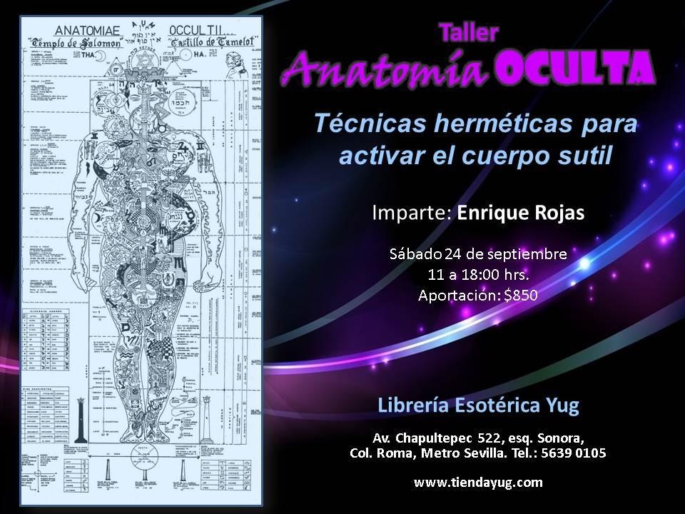Curso Anatomía Oculta en la ciudad de México el 24 de septiembre ...