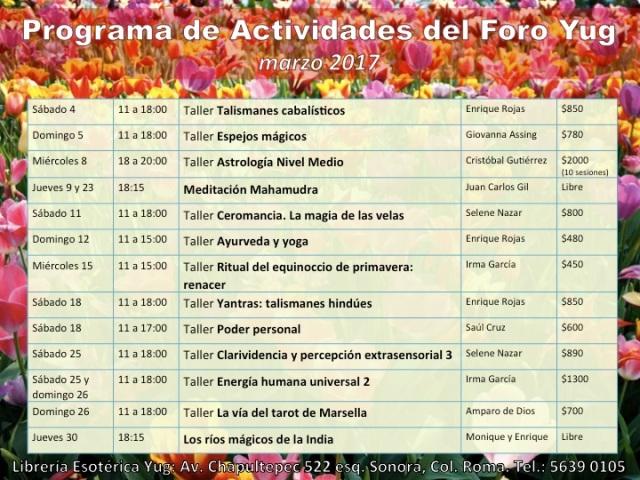 actividades-marzo-2017