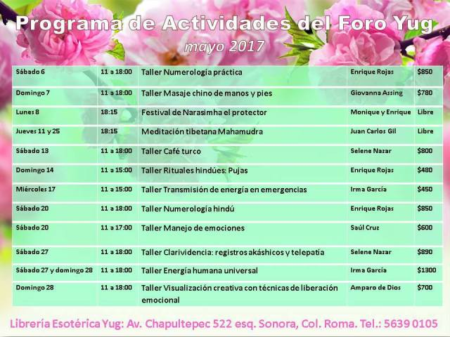 programa mayo 17