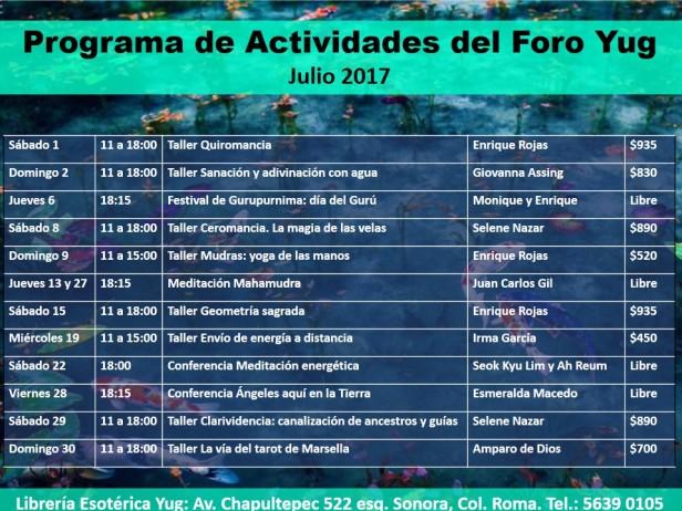 Actividades julio 2017 (1)