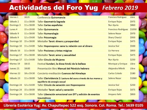 Actividades febrero 2019 (2)